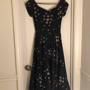 Vintage 1950's Cocktail Dress